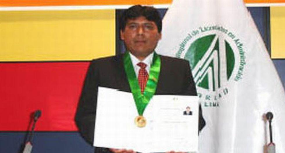 Prudencio Gutiérrez Huasacca trabajó junto a César Álvarez. (jornada.com.pe)