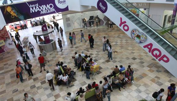 En Arequipa hay cinco centros comerciales. (Heiner Aparicio)