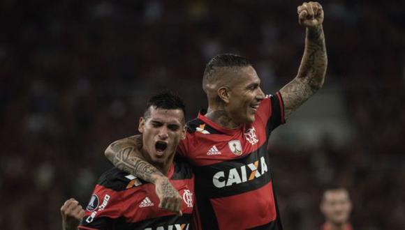 Trauco y Guerrero son piezas fundamentales en el esquema de Zé Ricardo, estratega del Flamengo. (AFP)