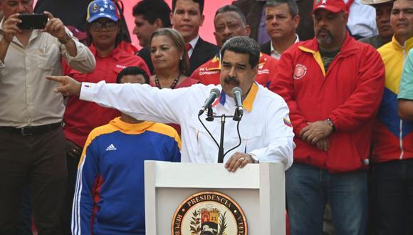 Venezuela | Nicolás Maduro propone adelantar elecciones de la Asamblea Nacional. (AFP)