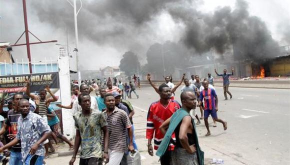 Ciudadanos protestan para impedir reelección de Joseph Kabila como mandatario (img.europapress.net).