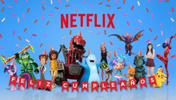 Netflix te ayuda a celebrar el cumpleaños de tus hijos con sus personajes animados favoritos (Netflix)