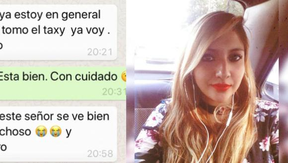 """Mujer toma desaparece luego de abordar un taxi en México """"Mami, este señor se ve sospechoso y grosero"""""""