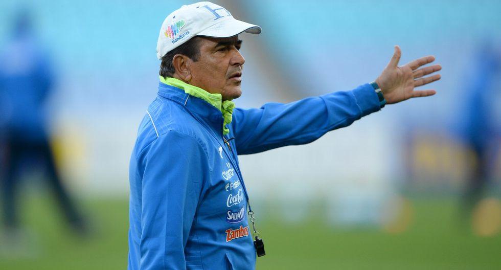 Jorge Luis Pinto fue campeón nacional con Alianza Lima en 1997 (Foto: AFP)