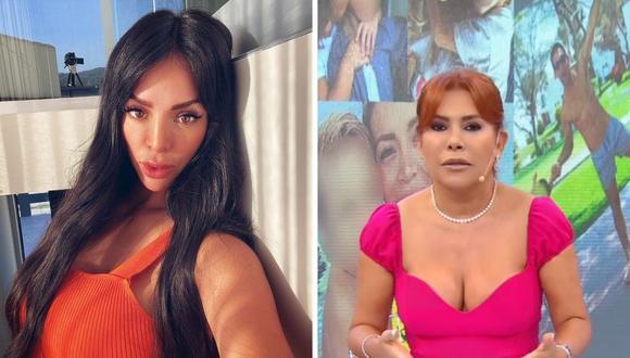 Magaly Medina negó que  Sheyla Rojas sea una buena madre por cómo envió a su hijo con Antonio Pavón. (Foto: Captura ATV / Instagram @_sheyoficial).