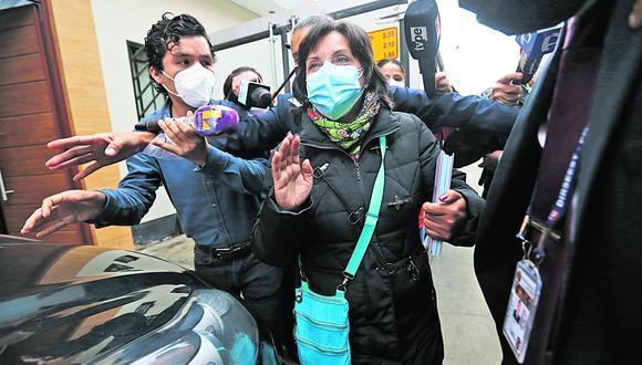 Dina Boluarte es candidata a la Vicepresidencia en la plancha de Pedro Castillo. (Violeta Ayasta/GEC)