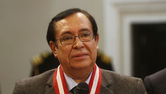 """Prado lamentó que se hayan producido estas prácticas porque """"afecta nuevamente"""" al Poder Judicial que intenta levantarse tras la crisis.(Foto: USI)"""