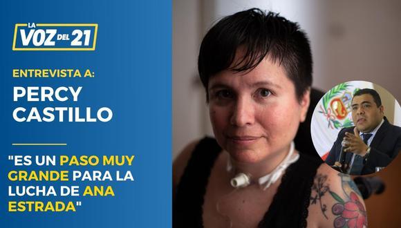 Ana Estrada Percy Castillo