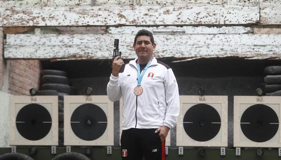 Marko Carrillo, clasificado a Tokio 2020. (Foto: César Campos)