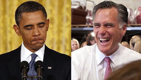 PALMO A PALMO. Romney será nominado como candidato esta semana, Obama recién en setiembre. (Reuters)