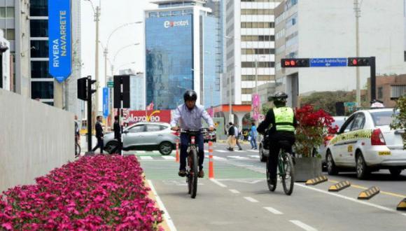 San Isidro: Construirán ciclovía que unirá la av. Arequipa con la urb. Córpac en solo 15 minutos. (Difusión)