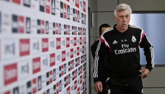 Carlo Ancelotti no se irá del Real Madrid pronto. (EFE)