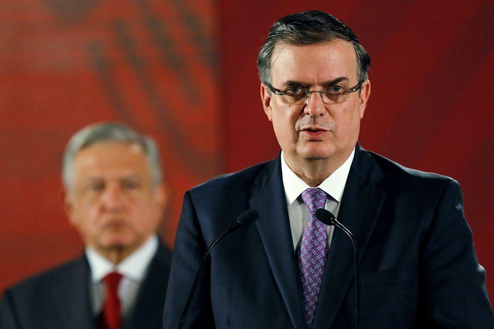 El ministro de Relaciones Exteriores de México, Marcelo Ebrard, se pronunció sobre la situación con salvadoreños. (Foto: Reuters)