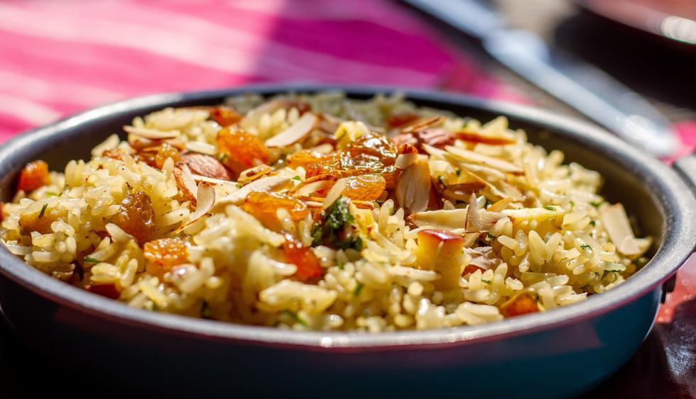 Kashmiri pulao es un delicioso arroz con especias, frutos secos e ingredientes secretos que es una delicia para el paladar. (Foto: Zandra Carbajal)