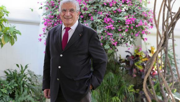 Médico francés cofundador de Médicos sin Fronteras y creador del Samusocial (Foto: Manuel Melgar)