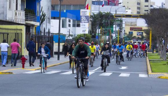 Se reforzará la infraestructura de la actual Ciclodía. (Municipalidad de Lima)
