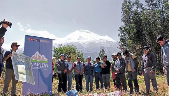 Áncash: Ocho científicos del Inaigem subirán hasta la parte más alta del Huascarán. (USI)