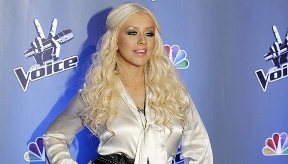 Christina Aguilera dio a luz a una niña y ya tiene la parejita. (AP)