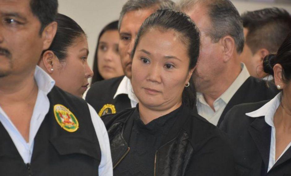 Keiko Fujimori Higuchi cumple 18 meses de prisión preventiva mientras se la investiga por lavado de activos. (Foto: GEC)
