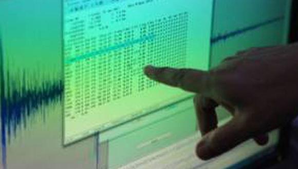 Sismo de magnitud 4.8 se registró esta mañana en Chilca