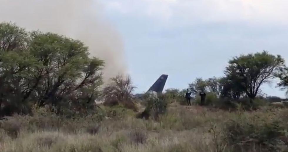 ¿Por qué se cayó el avión de Aeroméxico en Durango?  (Reuters)