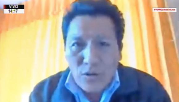 La bancada de Acción Popular se desmarcó de las declaraciones del congresista Orlando Arapa (Captura: Congreso).
