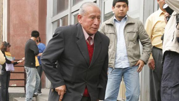 Tras declarar, fue liberado. (Ernesto Quilcate/USI)