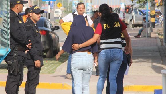 El INEI informó que el departamento con mayor incidencia de casos de trata de personas es Lima (143).