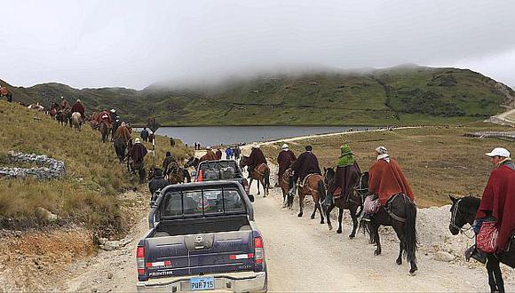 El proyecto Conga, en Cajamarca, es que más conflictos sociales en este gobierno. (USI)