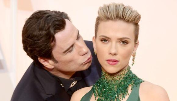 Scarlett Johansson aseguró que no le incomodó el beso. (EFE)