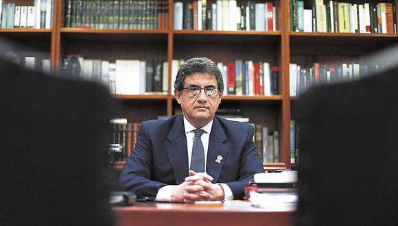 Juan Sheput Moore. Vocero alterno de PpK. (Perú21)