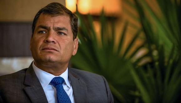 MALA COSTUMBRE. El presidente ecuatoriano Rafael Correa suele reaccionar mal con sus críticos. (Bloomberg)