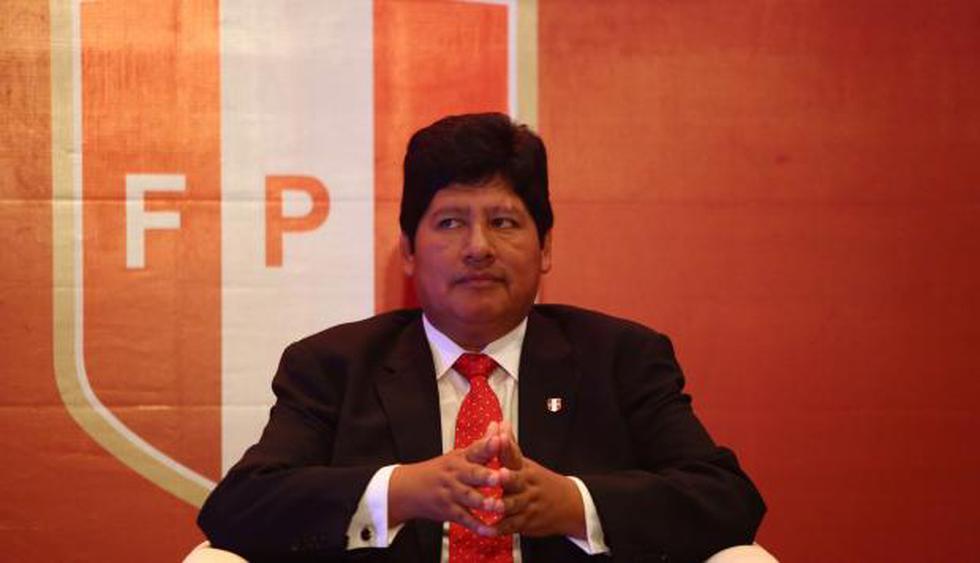 Edwin Oviedo, titular de la FPF, firmó los documentos dirigidos a la ADFP. (USI)