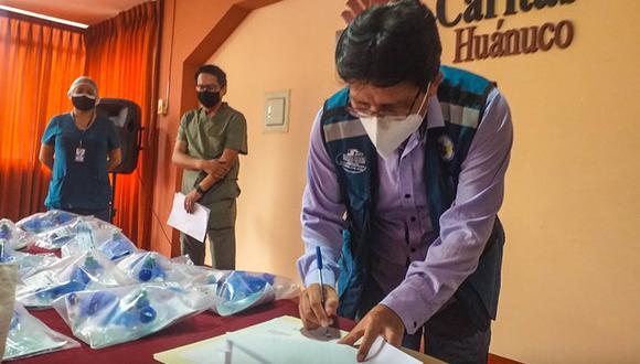Huánuco: entregan 20 ventiladores mecánicos para el hospital Hermilio Valdizán (Foto: Gore Huánuco)