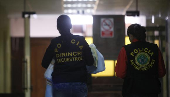 La Policía logró rescatar a la menor el pasado 20 de julio. (Foto: GEC/Referencial)