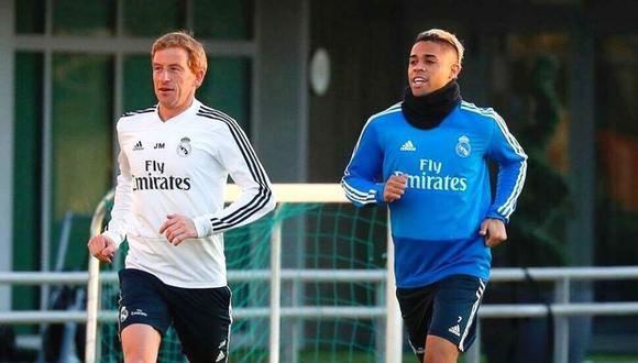 Mariano sorprende en su regreso a entrenamiento de Real Madrid
