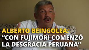 """Alberto Beingolea: """"Lo que ocurres en una democracia insana es que tenemos multitud de partidos ¿hay acaso tantas ideas políticas? no, no las hay"""" [VIDEO]"""