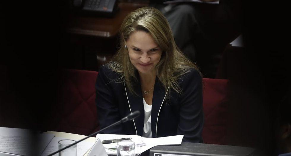 Luciana León es considerada el brazo legal de la organización criminal Los Intocables Ediles. (Foto: César Campos / GEC)
