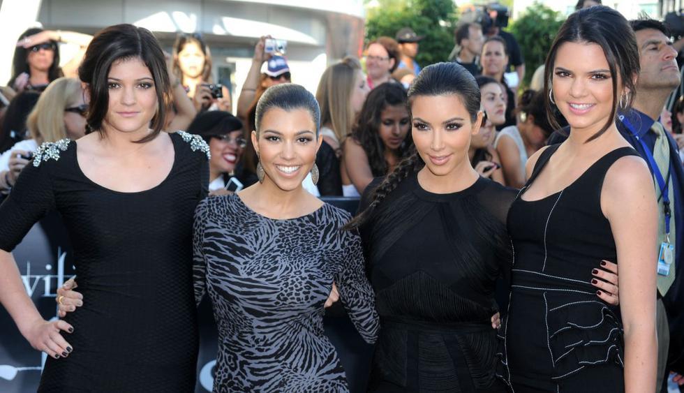 """Así celebró el """"Día nacional de la hermana"""" Kim Kardashian. (Foto: AFP)"""