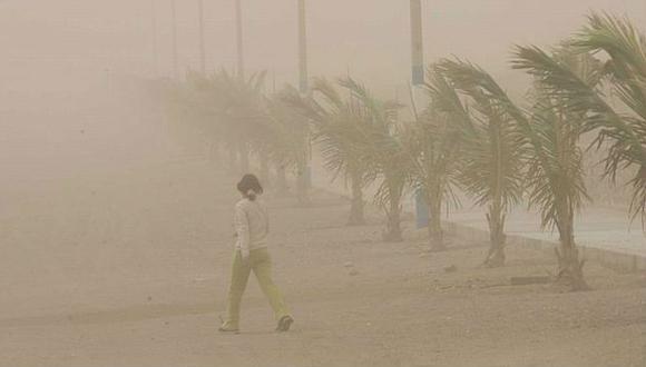Los fuertes vientos en la zona costera de nuestro país, durante esta época del año, podrían estar relacionados al cambio climático. (Fuente: USI)