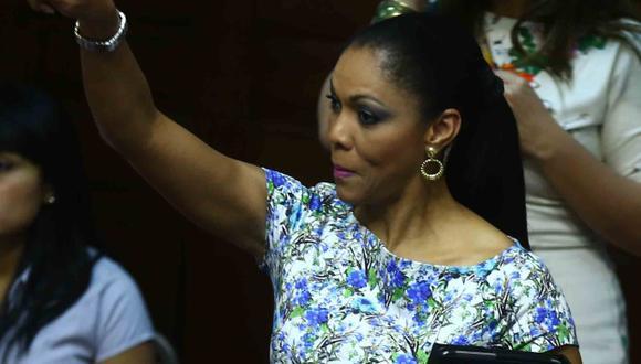 Cenaida Uribe: Comisión de Ética fija hoy fecha para ver su caso.  (Nancy Dueñas)