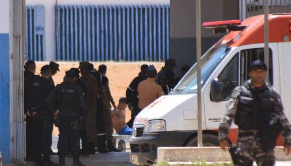 Los presos intentaron escapar por los conductores de ventilación de la cárcel.. La policía los descubrió y se inició un motín, con participación de unos 120 reclusos. | Foto: EFE / Referencial