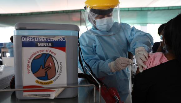 La vacunación contra el coronavirus (COVID-19) a nivel nacional sigue avanzando. Foto: Julio Reaño/@photos.gec