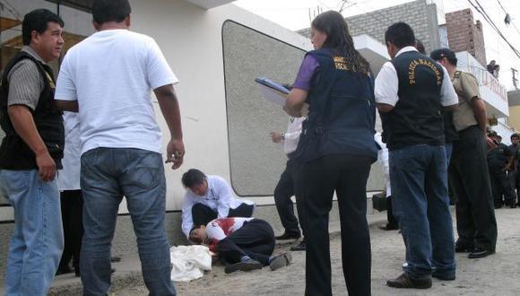 SOSPECHA. Cuñado del occiso dijo que crimen es una venganza. (Difusión)