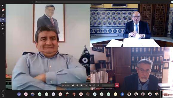 Humberto Acuña seguía participando de sesiones del Congreso pese a estar condenado por pagar coimas. (Imagen: Congreso)