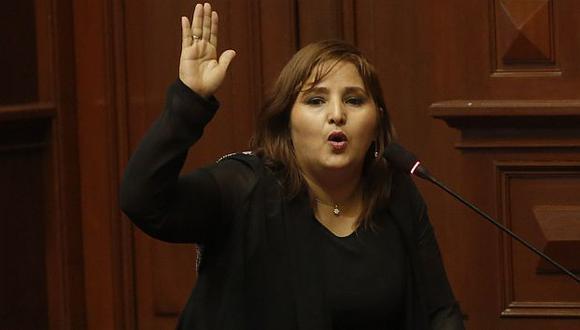 Tamar Arimborgo hizo polémica intervención. (USI)