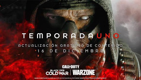 La primera temporada de 'Call of Duty: Black Ops Cold War' llegará muy pronto.