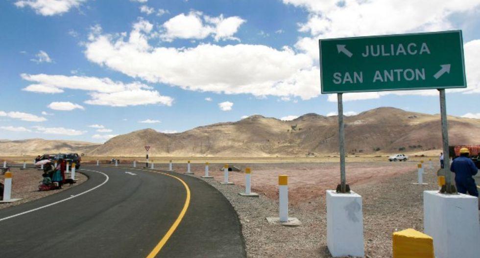 El accidente ocurrió de camino a Juliaca, en Puno. (Foto: Andina)