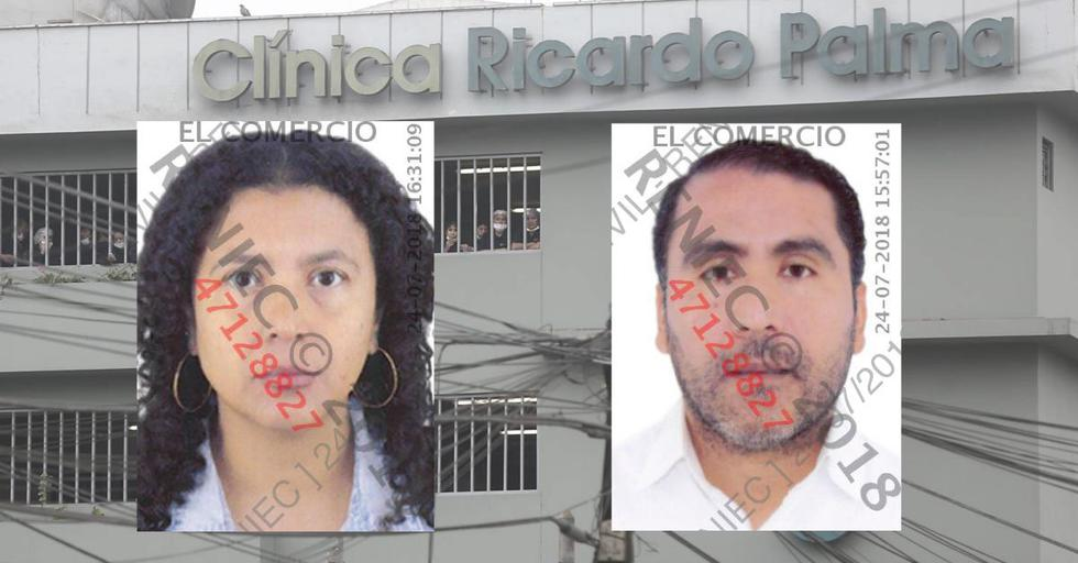Los hermanos Lenin y Claudia Benites Aguilar son los principales sospechosos de la explosión. Percy, otros de los hermanos, denunció a la clínica ante Indecopi. (USI)
