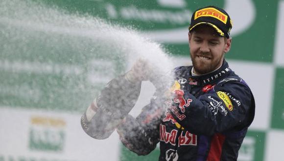 Sebastian Vettel igualó récord de 'Schumi'. (AP)